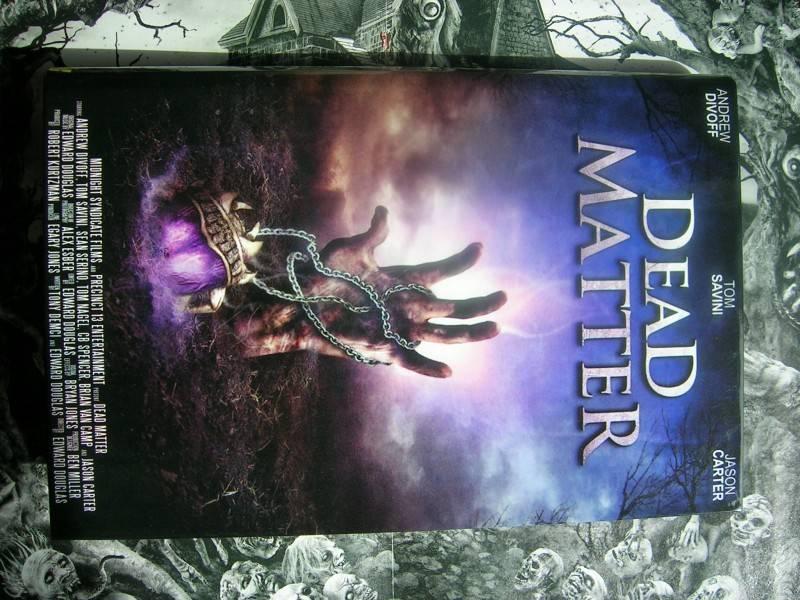 DEAD MATTER LIMITED 50 UNCUT DVD HARTBOX NEU TOM SAVINI