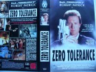 Zero Tolerance ... Robert Patrick ...  VHS ...  FSK 18