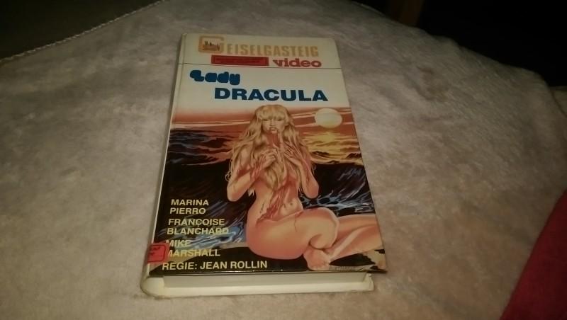 Lady Dracula Geiselgasteig Vhs Erstauflage Rar