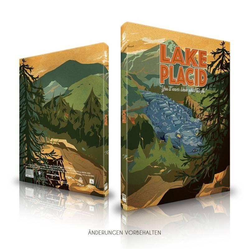 Lake Placid - Mediabook B (Blu Ray) NEU/OVP