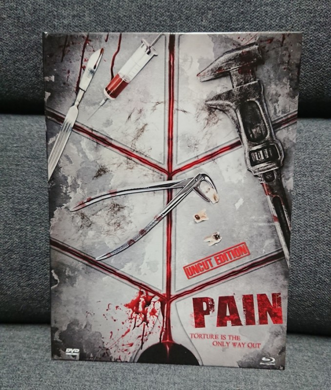 PAIN - Torture is the only way out - MEDIABOOK - Dragon -RAR