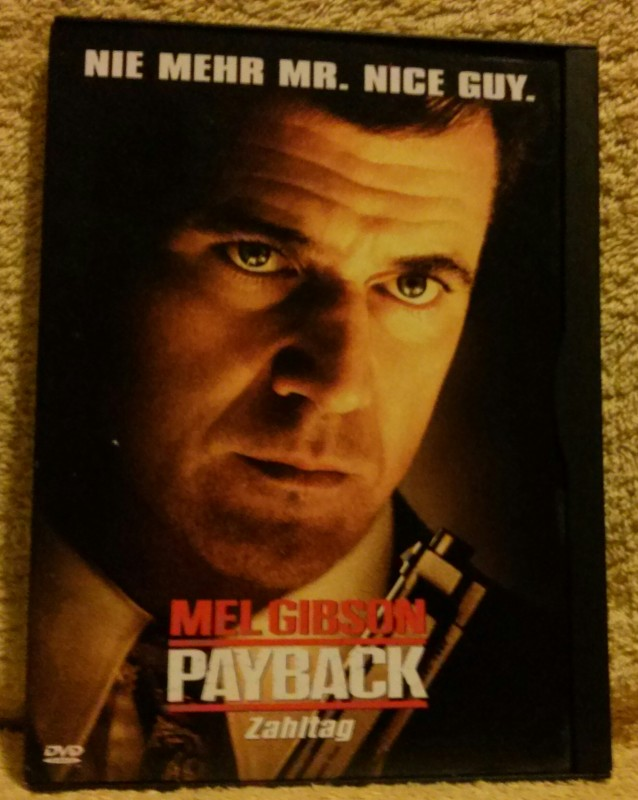 Payback Zahltag Mel Gibson DVD Uncut (I)