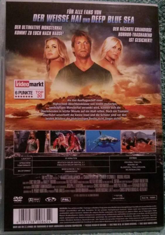 2-Headed Shark Attack Dvd Uncut (E) Carmen Electra