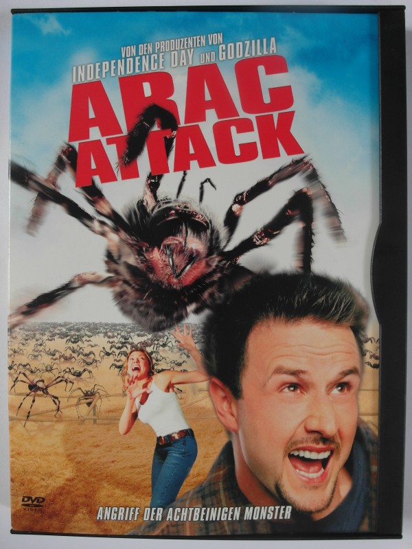Spider Attack Achtbeinige Monster