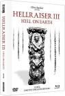Hellraiser 3 - Mediabook (Blu-ray + DVD), White Edition, NEU