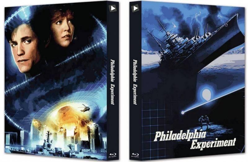 Das Philadelphia Experiment - Blu-ray Mediabook Lim 500 OVP