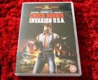 DVD ++ Invasion U.S.A. ++ Chuck Norris UNCUT DEUTSCH