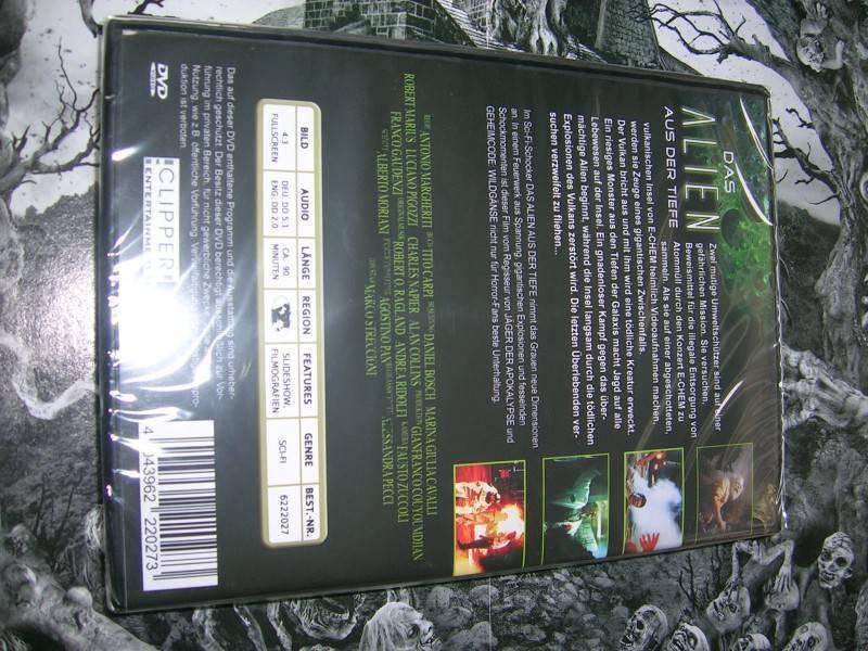 DAS ALIEN AUS DER TIEFE DVD EDITION NEU OVP