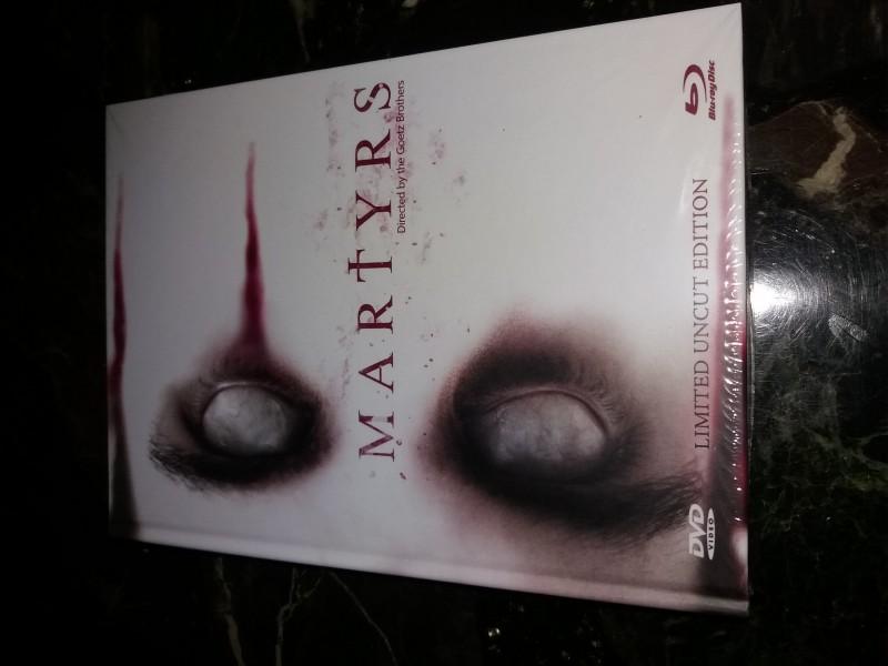 Martyrs (2015) Mediabook Blu-Ray+DVD Cover D limi 222  !