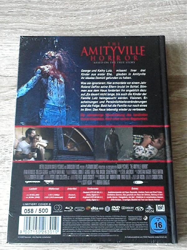 AMITYVILLE (2005) LIM.MEDIABOOK B VON NSM - UNCUT