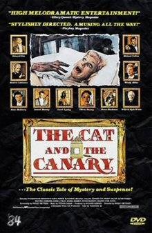THE CAT AND THE CANARY - GROSSE HARTBOX - UNCUT!!!