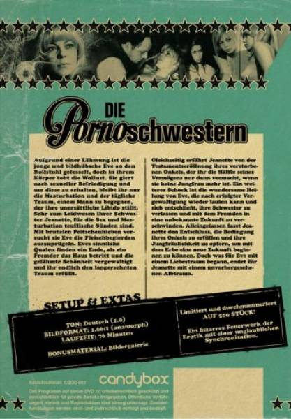 DIE PORNOSCHWESTERN - DARK & DIRTY VOL. 2 - UNCUT!!!