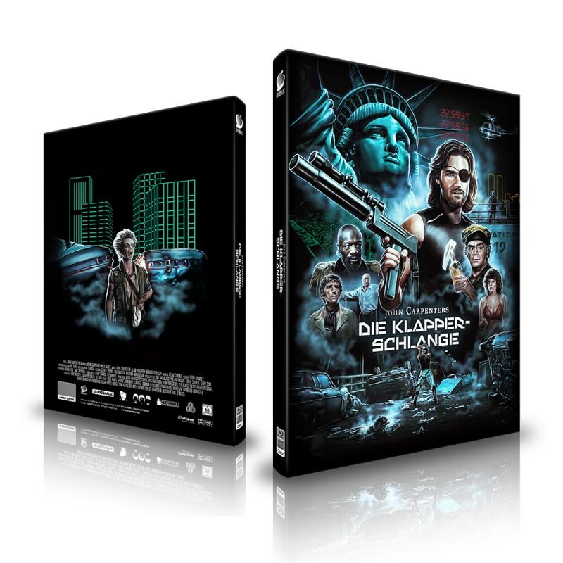 Die Klapperschlange * 2 Blu Rays + CD - Birnenblatt Media A