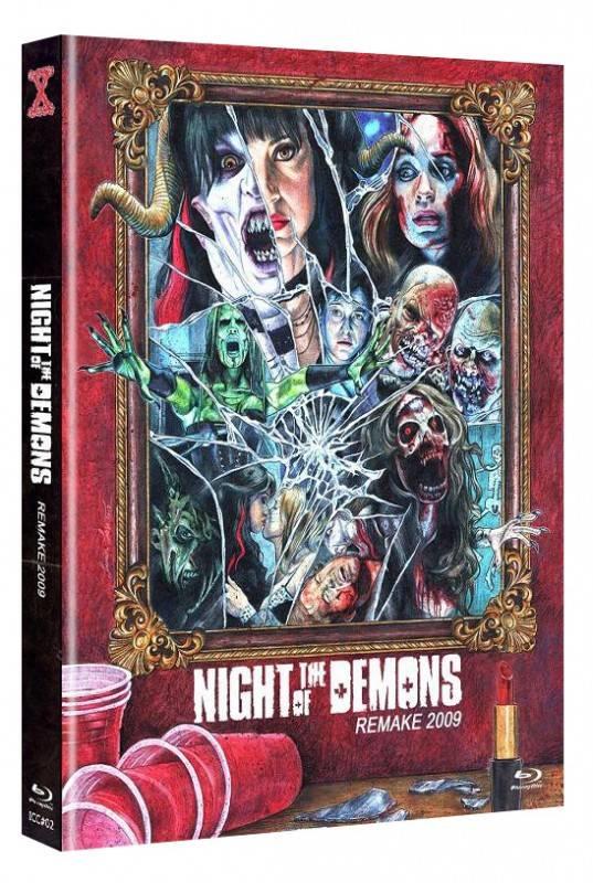 Night of the Demons (2009) Mediabook A (Blu Ray+DVD) NEU