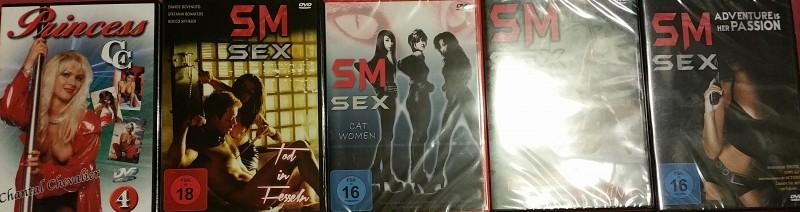 Erotikfilm Paket 5 DvD´s