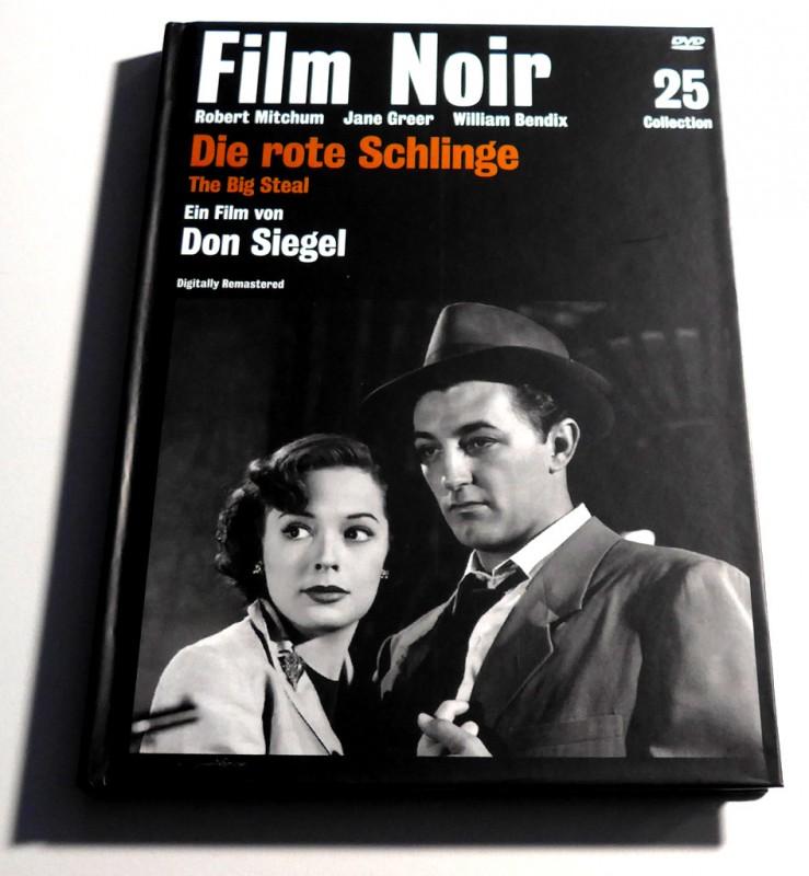 Film Noir Collection 25: Die rote Schlinge # Krimi # FSK12