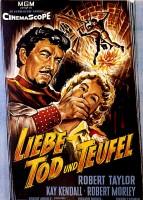 LIEBE; TOD UND TEUFEL Klassiker 1955 Robert Taylor