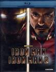 IRON MAN 1 + 2 2 x Blu-ray Marvel Avengers Robert Downry Jr.