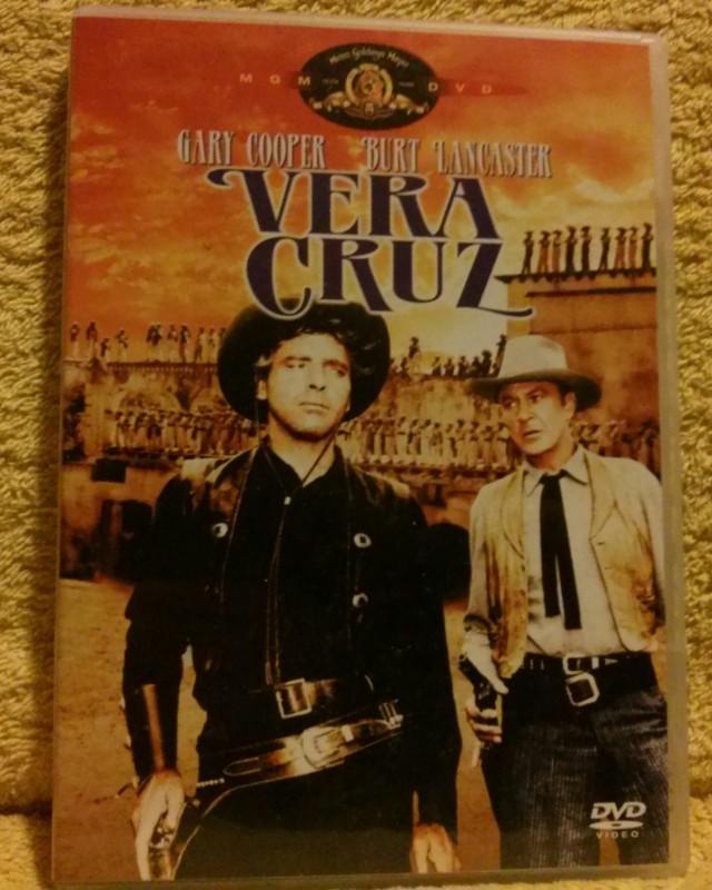 Vera Cruz Gary Cooper/Burt LancasterDVD selten!