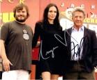 Angelina Jolie UND Dustin Hoffman org. auf Großfoto - beide!