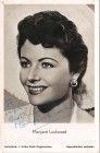 Margaret Lockwood (1916-1990) auf Karte original, 50er