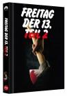 Freitag der 13. - Teil 2 - Limited Mediabook Cover B