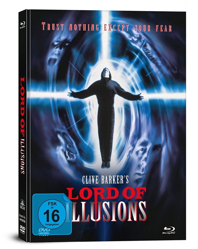 Lord of Illusions - 2-Disc Mediabook (Blu Ray+DVD) NEU/OVP