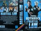 Martial Law ... Cynthia Rothrock, David Carradine  ... VHS