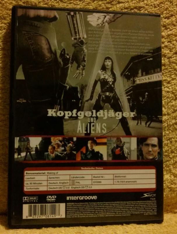 Kopfgeldjäger und Aliens DVD Charles Band
