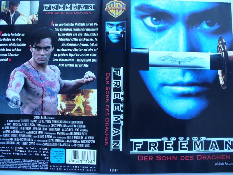 Crying Freeman - Der Sohn des Drachen ... Marc Dacascos  VHS
