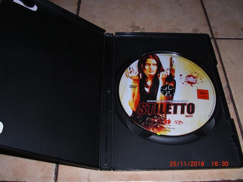 Stiletto , uncut DVD aus der Schweiz, neuwertiger Zustand !!