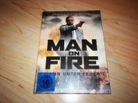 Man on fire / Mann unter Feuer MEDIABOOK OVP