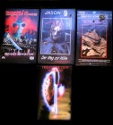 Freitag der 13. Jason - VHS Collection - Full Uncut! Rar,OOP