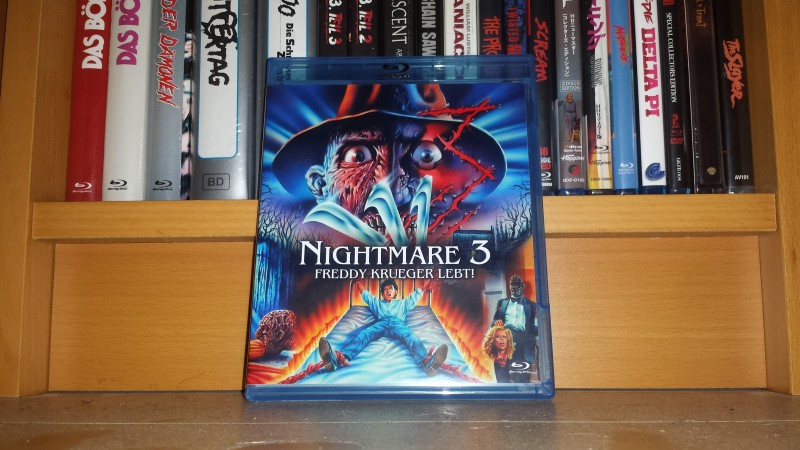 Nightmare on Elm Street 3 - uncut BD Amaray - Neu - no 84 XT