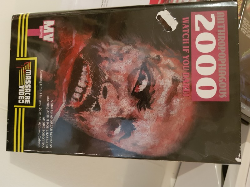 Anthropophagous 2000 - gr. lim. Hartbox - PCM - Cover B