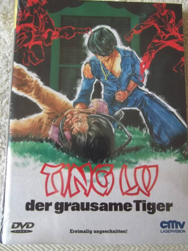 TING LU - DER GRAUSAME TIGER DVD UNCUT HARTBOX NEU / OVP