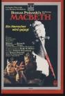 VHS Roman Polanski's Macbeth Neu; ohne Folie Großbox