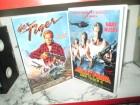 VHS - Der Tiger 1 + Bullet Proof Der Tiger 2 - Gary Busey