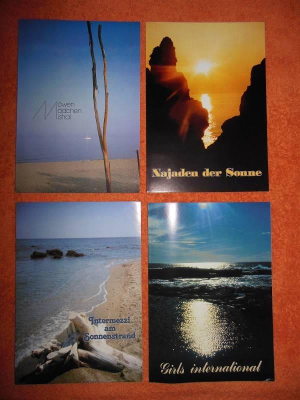 4 Nudisten Magazine; 4 FKK Fotobücher