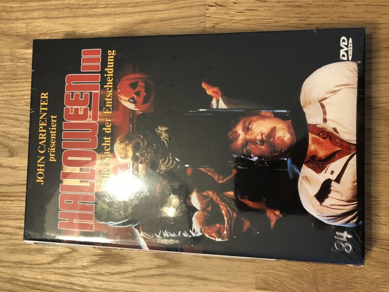 Halloween 3 - große Hartbox 84 - Retro - NEU / OVP