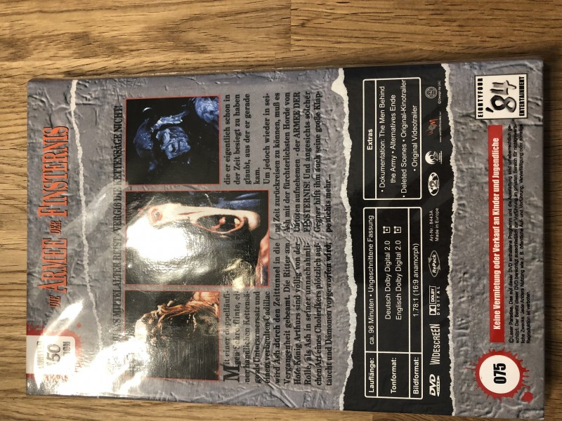 ARMEE DER FINSTERNIS - große Hartbox 84 Retro