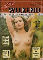 Happy Weekend Nr.153 von 1978 Vintage Kontaktmagazin Rarität