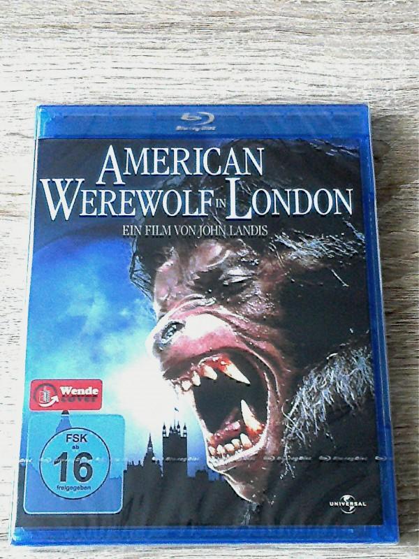 AMERICAN WEREWOLF IN LONDON(KLASSIKER)BLURAY OVP UNCUT