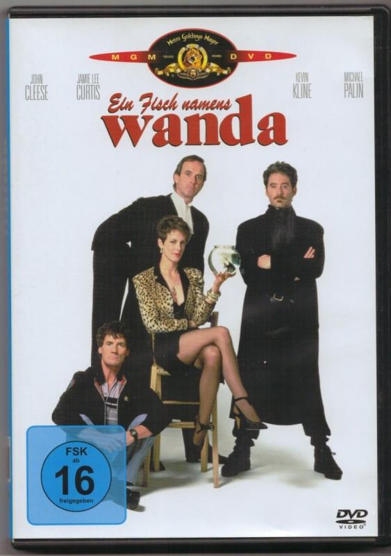 "DVD ""Ein Fisch namens Wanda"" John Cleese"