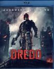 DREDD Blu-ray - SciFi Comic Action Judge 2012 Karl Urban