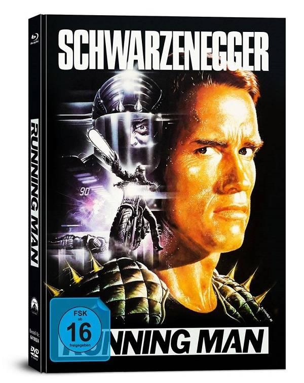 Running Man - 4Disk Mediabook OVP