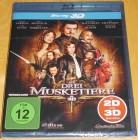 Die drei Musketiere 3D Blu-ray Neu & OVP