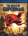 THE DEATH OF SUPERMAN Blu-ray DC Animated Movie
