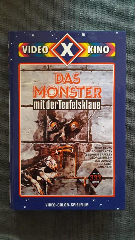 DAS MONSTER MIT DER TEUFELSKLAUE - limitiert 333 UfA Cover V