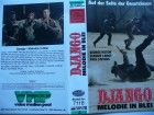 Django - Melodie in Blei ... George Hilton... VHS ...FSK 18